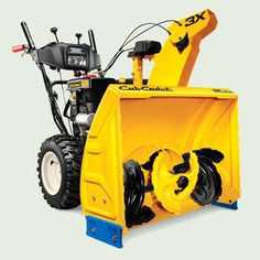 The Three-Stage Power Snow Thrower by Cub Cadet features a corkscrew-shaped chopper in the front of the scoop that punches through snow walls up to 18 inches tall and dices even the iciest snow fed in from the augers, accelerating it through the chute 50 percent faster than the previous model did. About $1,400 from cubcadet.com | thisoldhouse.com