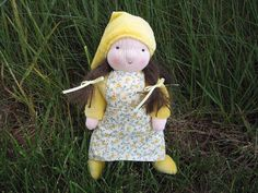 Waldorf Doll Sally the Gnome Girl 8 Inch by LittleElfsToyshop, $50.00 #Etsy #Handmade #Waldorf