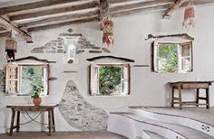windows. a restored home in spain.