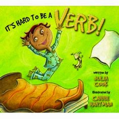 It's Hard To Be A Verb! (a book about focusing) - www.childtherapytoys.com