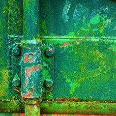 #rustic #green #detail