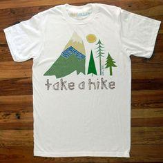 Take A Hike Tee>> cute!