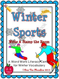 This fun, winter sports themed activity pack will help your students practice reading, writing, & vocabulary; a perfect complement to your seasonal activities!