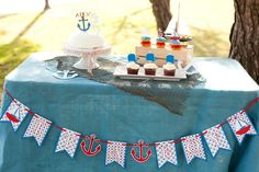 AHOY Nautical Baby Shower