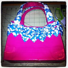 Pink Aloha Duck Tape Purse by DuckTapeAndDerby on Etsy, $17.00