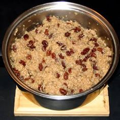 Quinoa Pudding -- I made this... honestly, REALLY not good. Actually, bad. Very, very bad. Try a different version of the recipe if you want to try it.