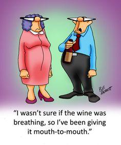 Wine rescue! lol!
