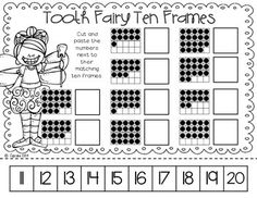 HEALTHY SMILES {MATH & LITERACY CENTERS FOR DENTAL HEALTH MONTH!} - love these!