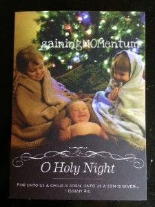 Christmas card ideas on pinterest christmas card photos for O holy night decorations