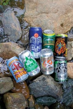The best canned craft beer on the market, easy to pack in and out