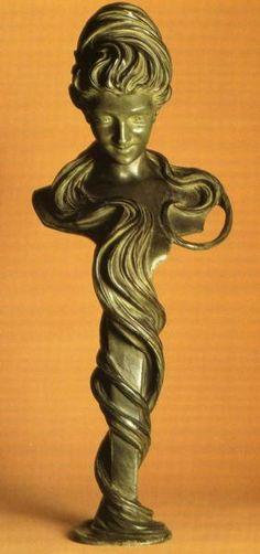 Bust of a Woman    Alphonse Mucha