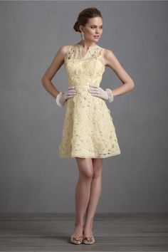 Lemon Meringue Dress in SHOP Bridesmaids & Partygoers Bridesmaid & Party Dresses at BHLDN