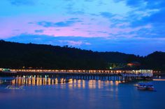 Andaman Club Pier, Ranong, Thailand.