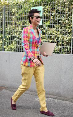 Esther Quek #fashion #streetstyle