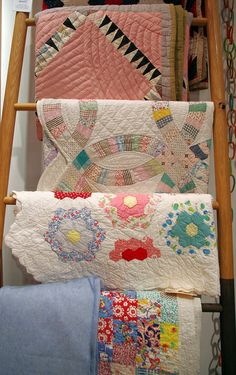 Beautiful old country quilts