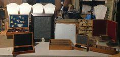 Art Jewelry Elements: Freeform Friday: Cigar box displays