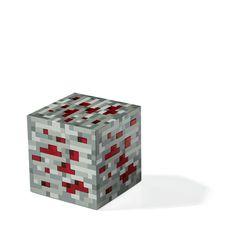ThinkGeek :: Minecraft Light-Up Redstone Ore