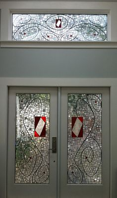 Beautiful glass on glass mosaics by Kelley Knickerbocker
