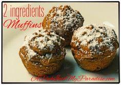 2 Ingredient Muffins
