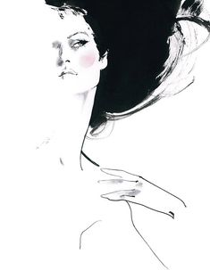 Bellezza da vendere: David Downton -High Illustration