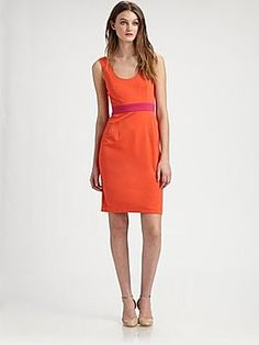 Orly's Scoopneck Jersey Dress, Saks Fifth Avenue. #FashionStar
