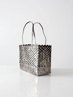Vintage métal sac à main par IronCharlie