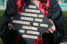 quot, graduation cap decoration