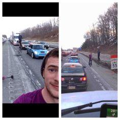 http://www.reddit.com/r/pics/comments/1zb11w/two_redditors_both_stuck_in_traffic/