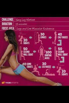 Sexy leg workout!