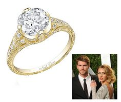 Miley Cyrus is Engaged to Liam Hemsworth! See Her 3.5-Carat Engagement Ring...