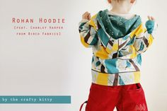 Free Rohan Hoodie pattern (2-6T) and tutorial