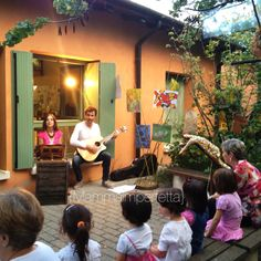 Listening... Preschool Reggio Emilia  #Reggio Emilia