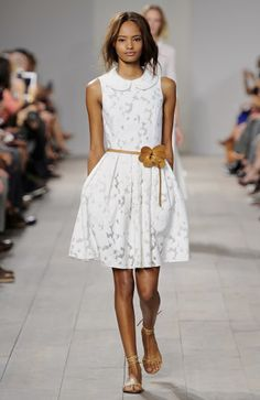 Look 3 from the Michael Kors Spring 2015 Collection. #MKSpring #AllAccessKors