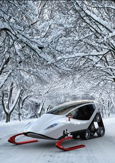 really, really cool snowmobile