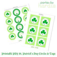Saint Patrick's Day printables