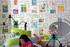 Steal of the Day: Graham & Brown Frames Wallpaper