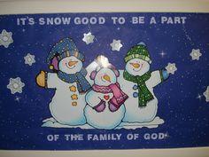 christian january bulletin board ideas | January children's board | Bulletin Board Ideas