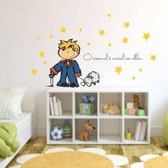 adesivo decorativo de parede pequeno principe