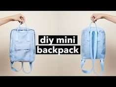 DIY: Mini Backpack (