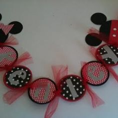 mice, themed birthday parties, mickey mouse birthday, happy birthdays, birthday banners, mickey mouse clubhouse, parti idea, minnie mouse party, minni mous