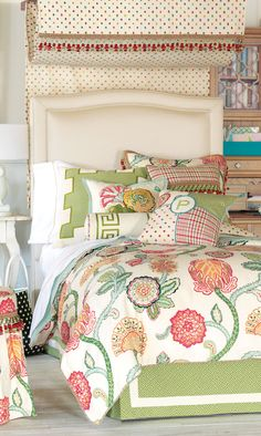 Portia Bedding #Girls Bedding #Girls Bedrooms More style bedding here www.colorfulmart.com