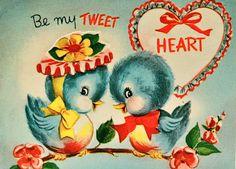 Dutch Door Cottage: Vintage Bluebird Valentine Tea Party