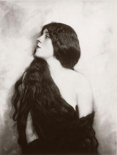 vintag, cheney johnston, art, evan burrow, ziegfeld girl, beauti, ziegfeld folli, alfr cheney, hair