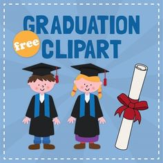 clipart freebi, graduat clipart, teacher tools