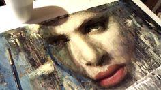 Encaustic portrait