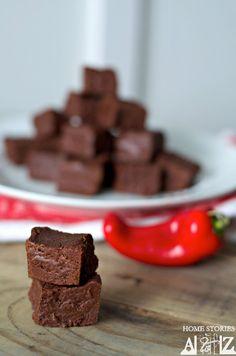 Chili Chocolate Fudge