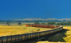 Union Pacific Railroad, runs through Nevada