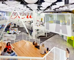 Lorcan O'Herlihy Architects together with Tangram Studio designed the office for Grupo Gallegos in Huntington Beach, California.