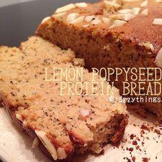 Lemon Poppy Seed Protein Bread #Vitacost #Recipe