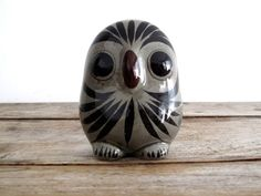 Vintage Ceramic Owl  Mexican Pottery  by SnapshotVintage on Etsy, $32.00
